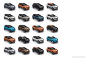 Renault Captur : les coloris
