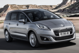 Restylage Peugeot 5008