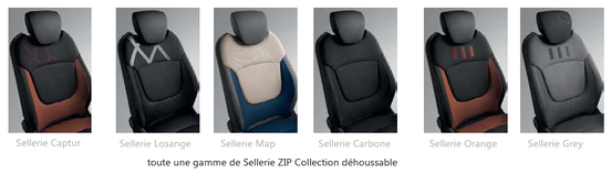 Sellerie Zip Collection