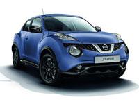 Nissan juke bleu indigo