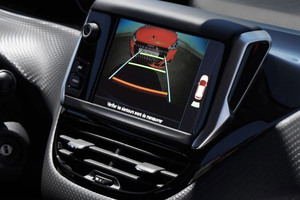 Caméra de recul Peugeot 208