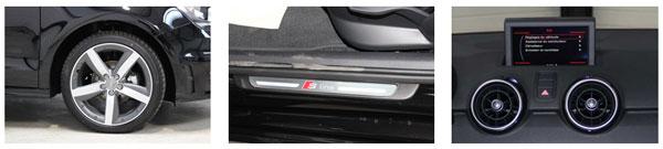 Audi A1 finitions équipements