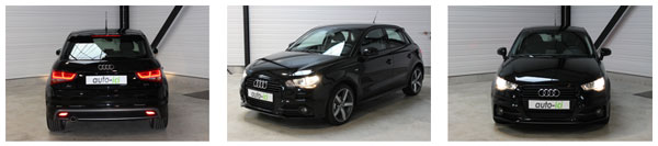 Audi A1 apparence