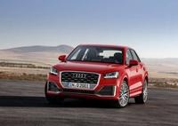 Audi Q2 rouge de face