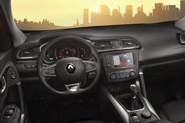 Intérieur Renault Kadjar black edition
