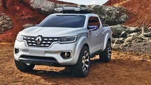 Renault alaskan de face