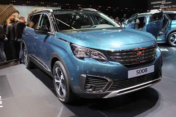 Le nouveau Peugeot 5008 2 est une des stars de ce mondial avec son petit frère le 3008 2.