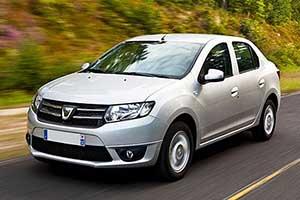 Dacia logan blanche
