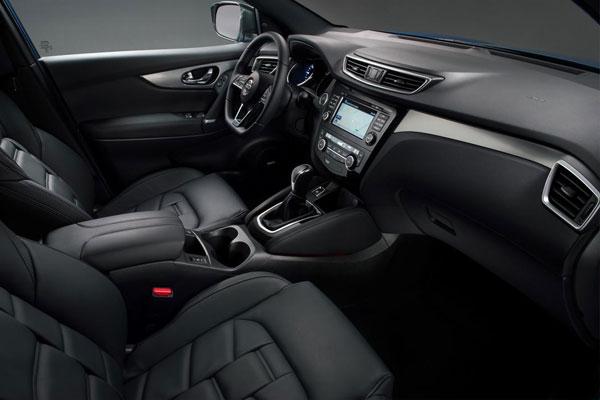 Nissan Qashqai restylé 2017 intérieur