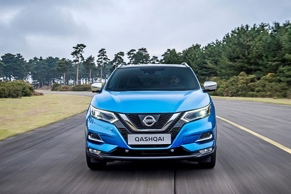 Nissan Qashqai restylé 2017 face avant