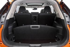 Coffre et sièges arrières Nissan X-trail 2017
