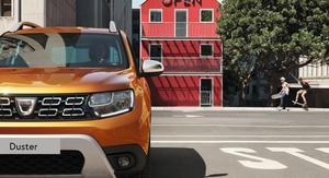 Nouveau Dacia duster de face