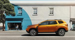 Dacia duster 2018 vue de profil