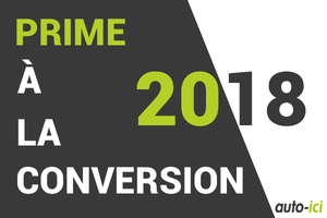 Logo prime à la conversion 2018