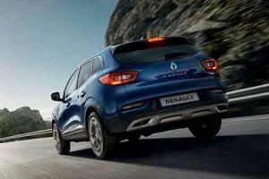 Nouveau Renault Kadjar vue de derrière