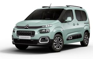 Berlingo citroen vue de face