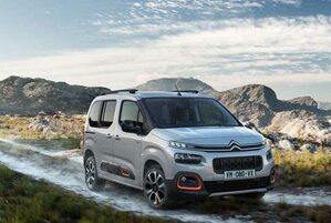 nouveau Citroën Berlingo vue de face