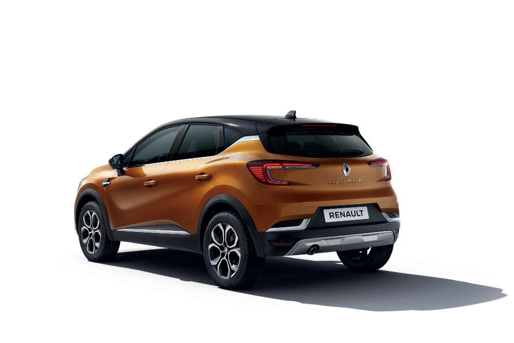 Renault Captur 2020 arrière