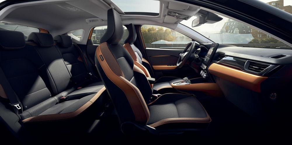intérieur nouveau Renault Captur