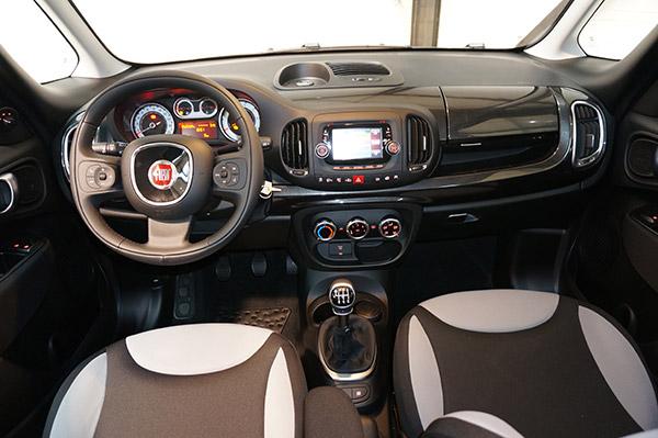 autoradio Tacile Fiat 500 L