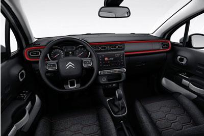 Intérieur Nouvelle Citroën C3