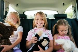 enfants-voiture
