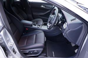 L'intérieur d'une voiture