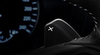 palettes au volant Nissan Juke 2020