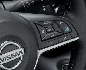 commande volant nissan juke