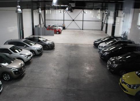 Salle de préparation et livraison des véhicules