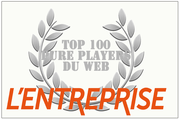 Top 100 des pure players du web